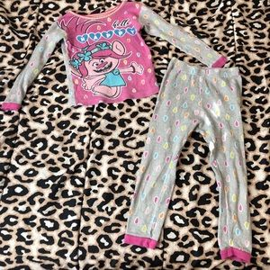 Girls Poppy from Trolls PJ Set